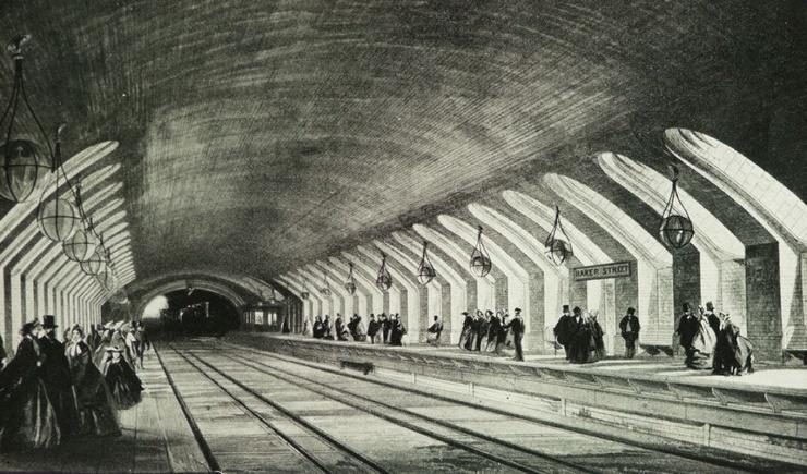 Самые старые метрополитены в мире (10 фото)