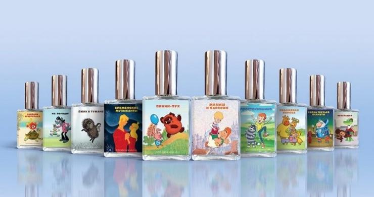 Союзмультфильм выпустил парфюм с запахом плюшек, утренней росы и погони