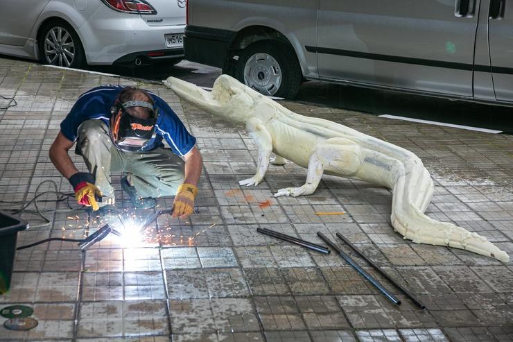 В Москве выставят чучело аллигатора Сатурна  легендарной рептилии-старожила, пережившей Вторую мировую, Советский Союз и начало пандемии (11 фото)