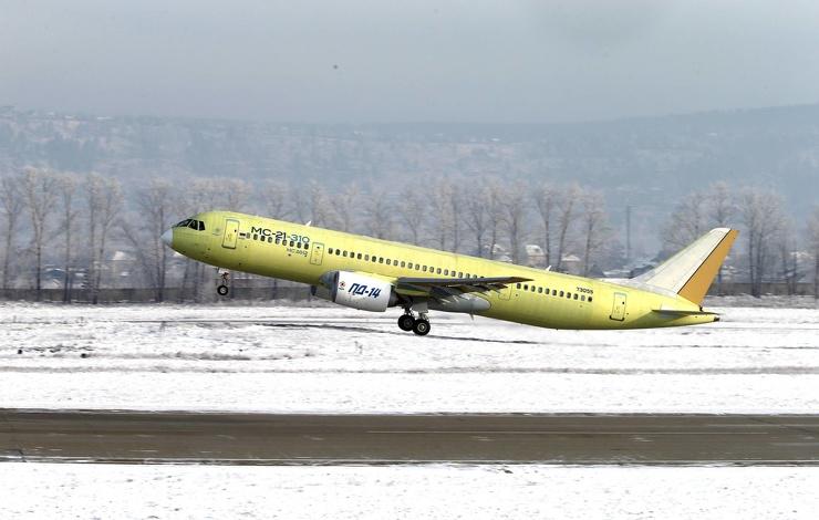 Новый российский самолет с новыми российскими двигателями