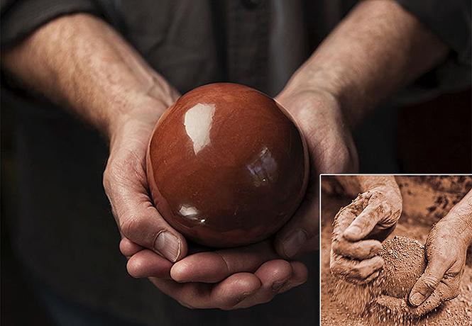 Полированные до блеска шары из грязи  еще одно странное японское хобби