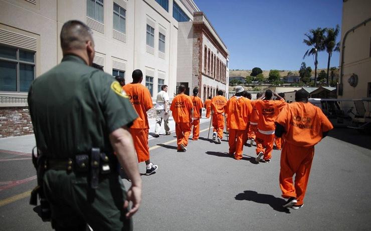 Сан-Квентин  знаменитая тюрьма в США