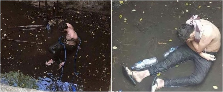 Британец шесть дней просидел в грязном колодце на Бали (6 фото)