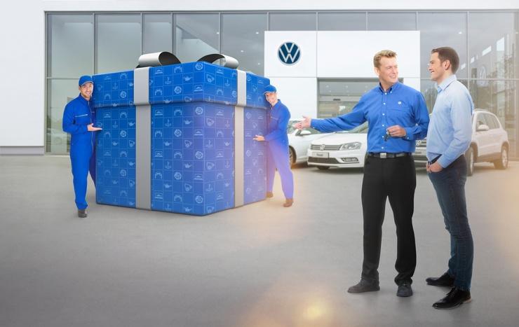 Поздравляем с покупкой Volkswagen с пробегом!