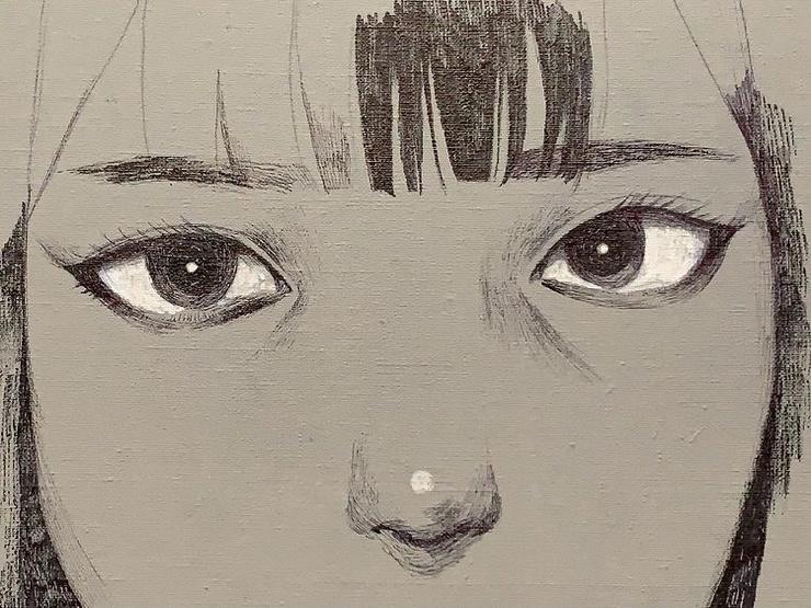 Меланхоличные красотки художника Ватабоку (38 фото)