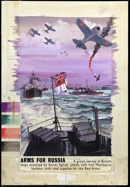 Спасибо, товарисч! 17 плакатов союзников в поддержку Советской армии