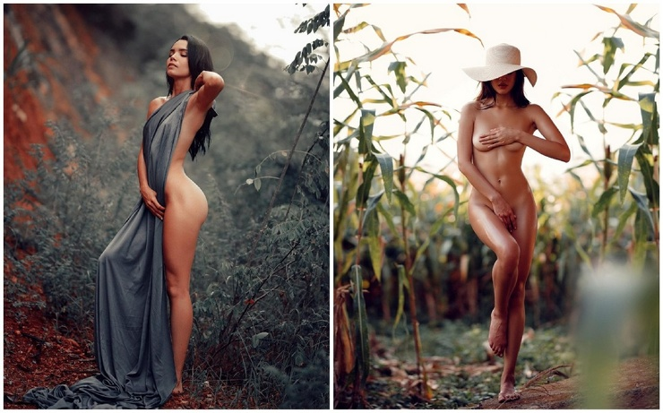 Девушки на снимках Алехандро Гонсалеса