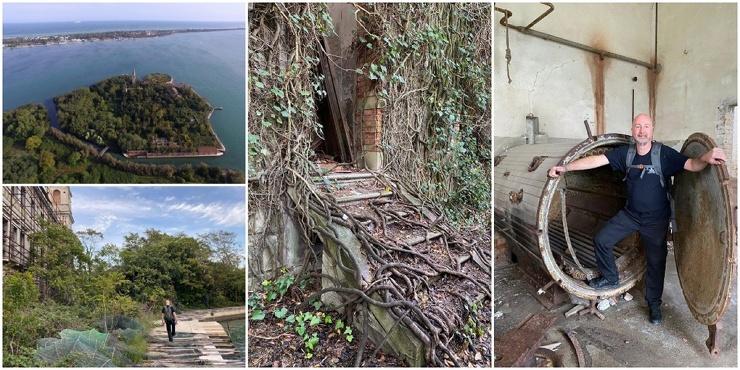 Жуткий итальянский остров с массовыми захоронениями и чумными ямами