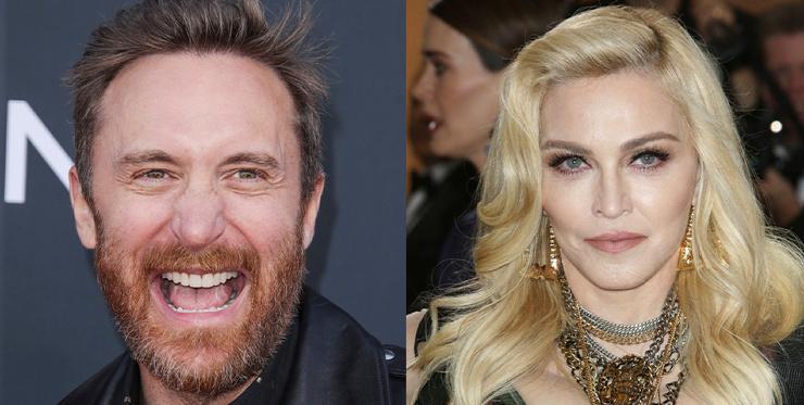 Мадонна отказалась работать с диджеем Дэвидом Геттой, потому что он Скорпион (видео)