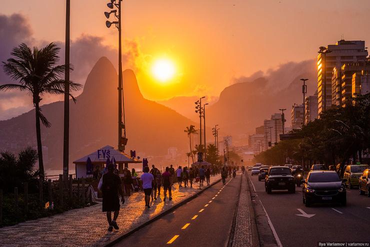 Однажды вечером в Рио-де-Жанейро! (14 фото)