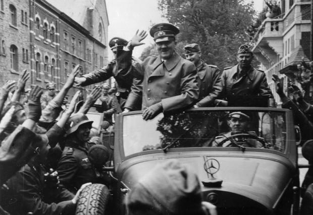 Как личный шофер Гитлера пил с советскими солдатами за победу