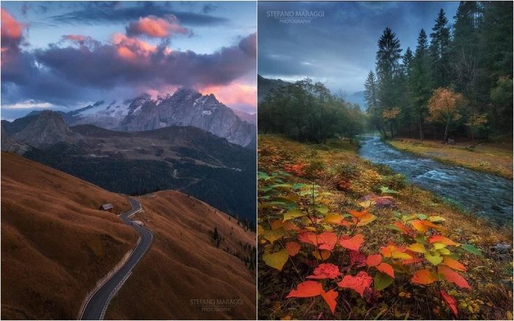 Красивые пейзажные снимки Стефано Мараджи