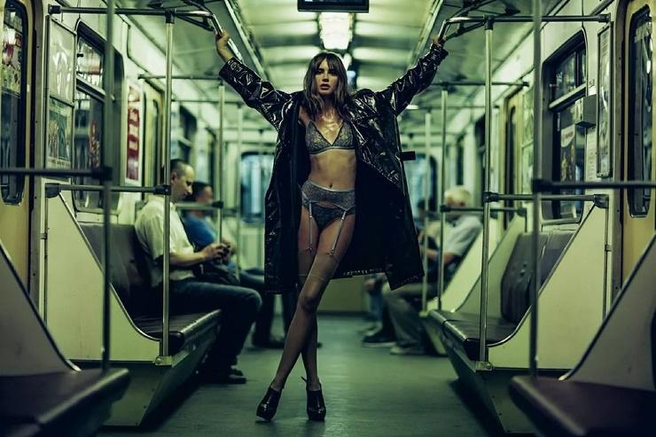 Модники из российского метрополитена от 7.04  фото