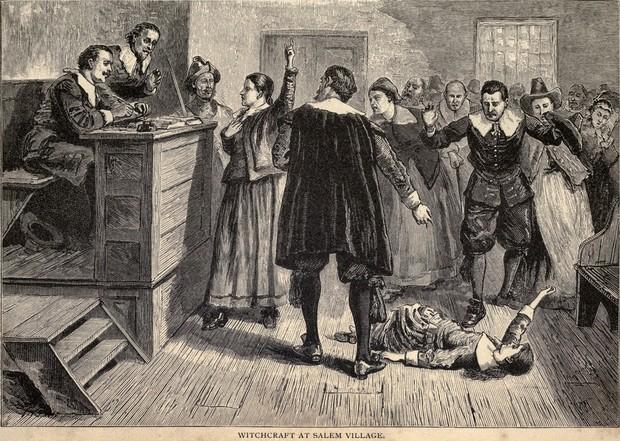 Процесс над салемскими ведьмами 150 обвиненных, 19 повешенных