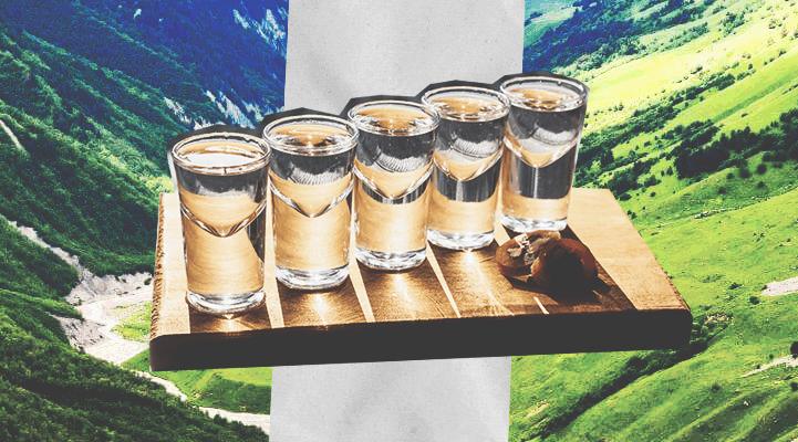 Лучшая водка, по мнению Сталина чача  напиток Грузинских крестьян