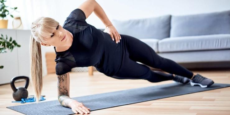 Тренировка дня 4 упражнения прокачают все мышцы корпуса
