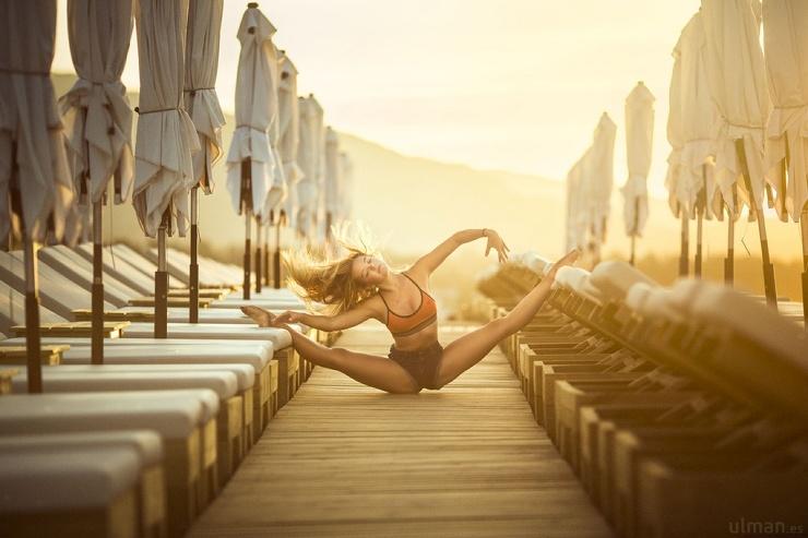 Драматическая красота танца на снимках Анны Ульман