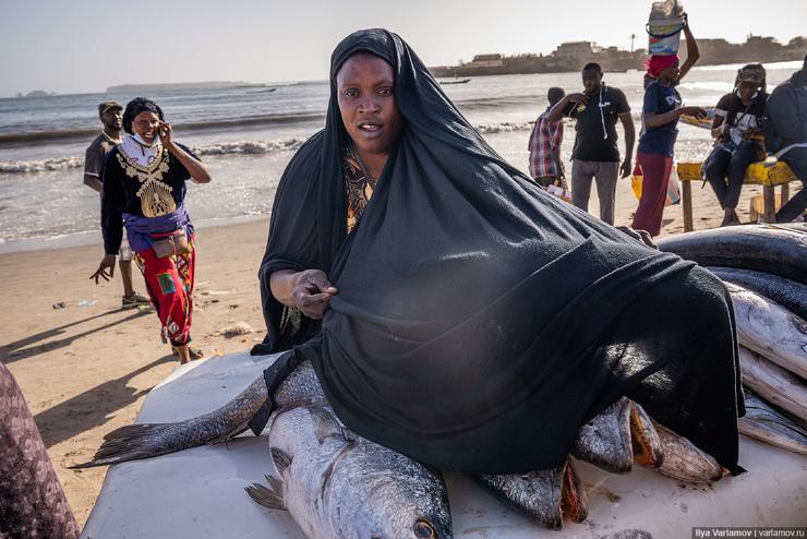 Горе, Сенегал один из крупнейших средневековых центров работорговли фото