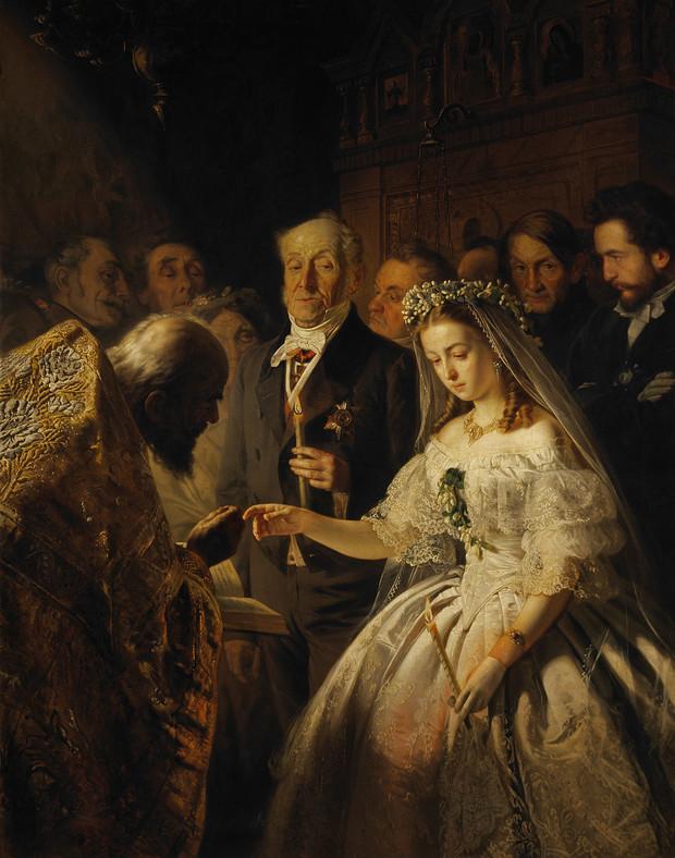 Неожиданная история, стоящая за картиной Неравный брак