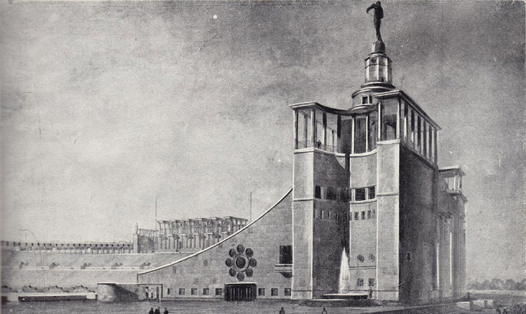 Сталинский Колизей (10 фото)