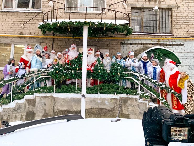 В Екатеринбурге прошел первый Новогодний КАРНАВАЛ!   фото