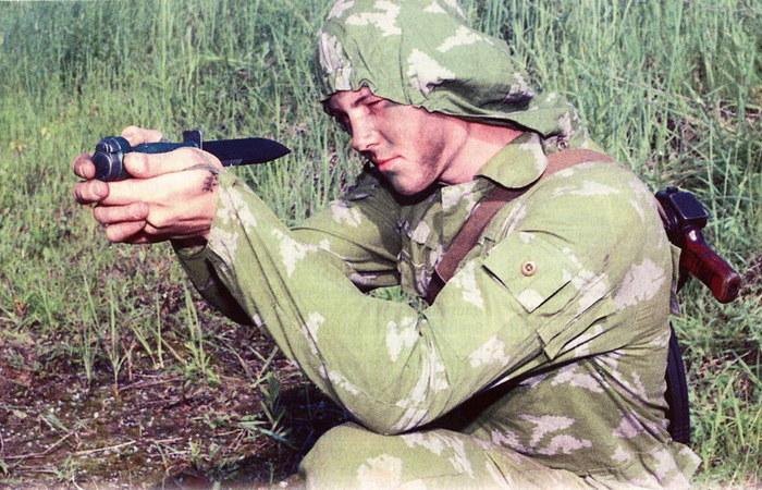 Советский нож-пистолет
