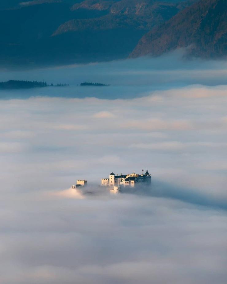Австрия и Норвегия зимой на снимках Себастьяна Шейхла