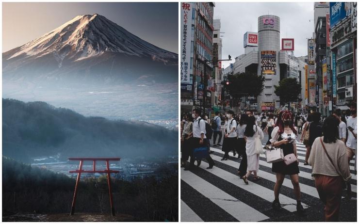Японии на фотографиях Хиро Гото