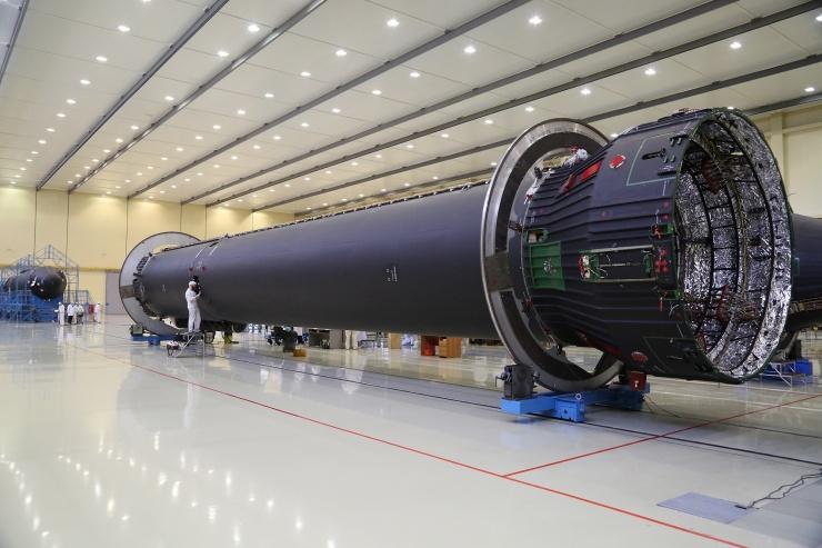 Где собирают российские ракеты Ангара  фото  видео