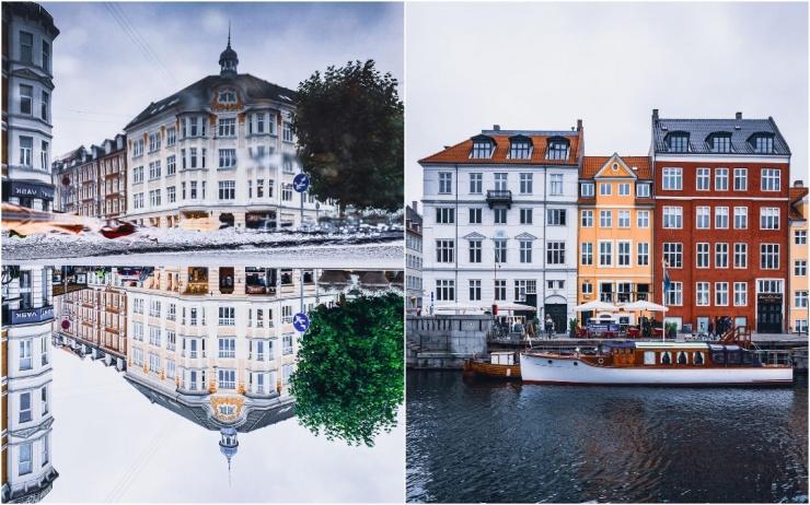 Улицы Дании на фотографиях Адама Бросбеля