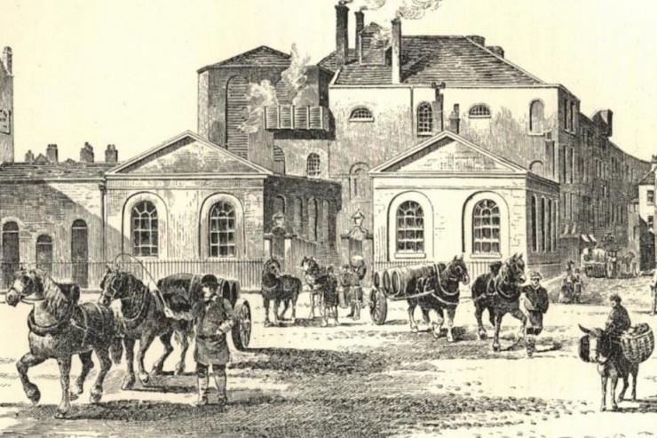 Одна из самых странных катастроф в истории лондонское пивное наводнение 1814 года