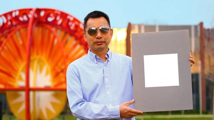 Исследователи представили самую белую краску в мире. Она отражает 98 солнечного света
