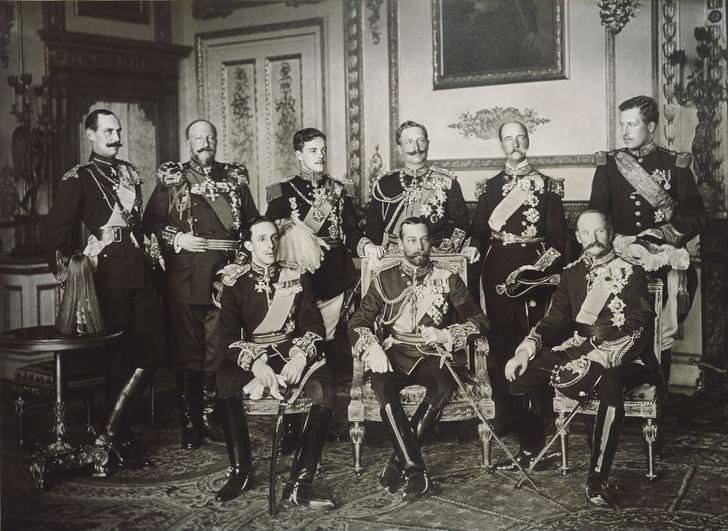 История одной фотографии девять европейских королей на одном снимке, май 1910 года