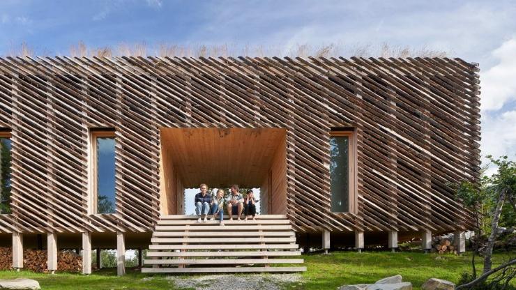 Современный дом в Норвегии, который архитекторы сделали для себя