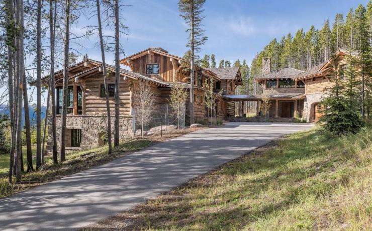 Дом в стиле шале в штате Монтана