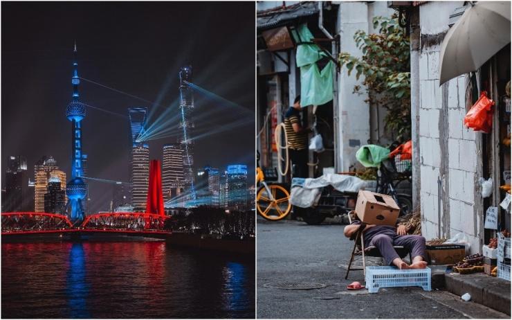 Китайские города на снимках Лю Цяня (25 фото)