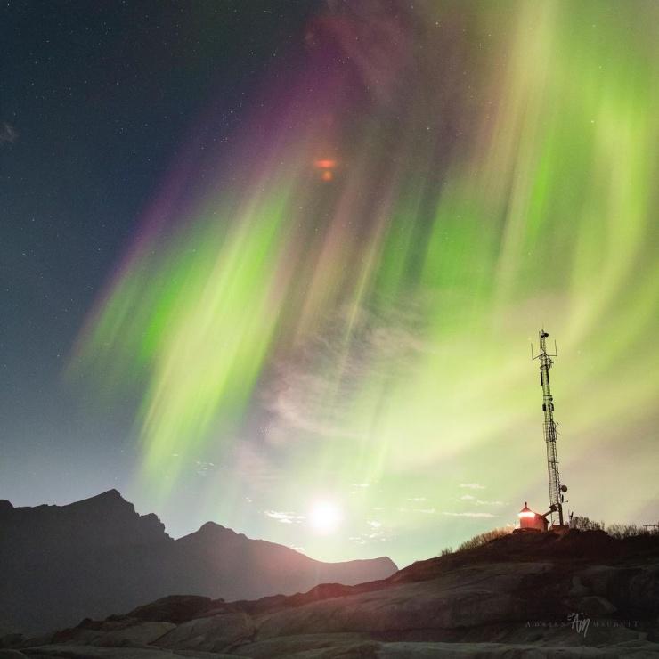 Ночное небо на снимках Адриена Луи Модуита