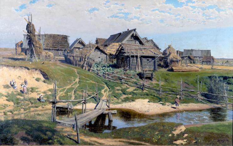 Чем деревня отличается от села?