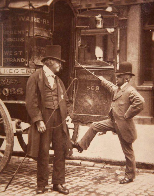 Жизнь лондонских улиц в 1877 невероятно атмосферные фото Джона Томпсона