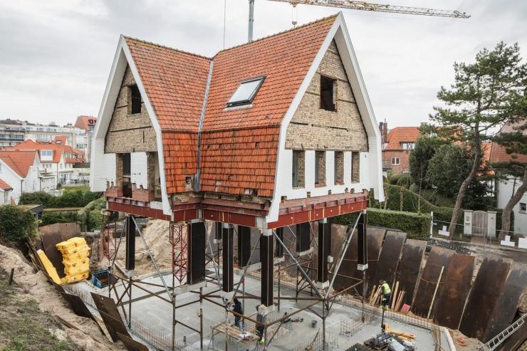 Тряпичный кукольный дом обновление старинной бельгийской виллы