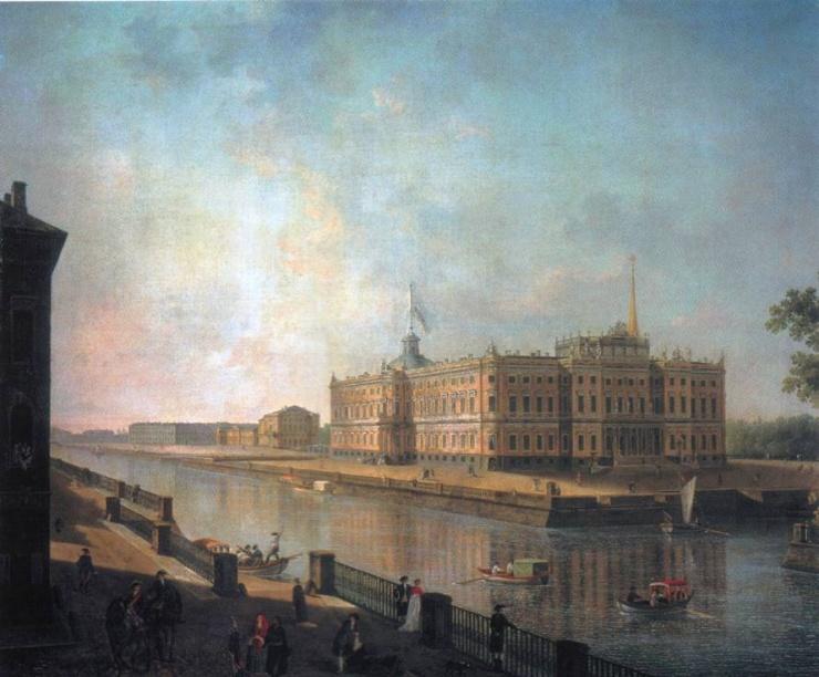 Санкт-Петербург глазами русских художников (10 фото)