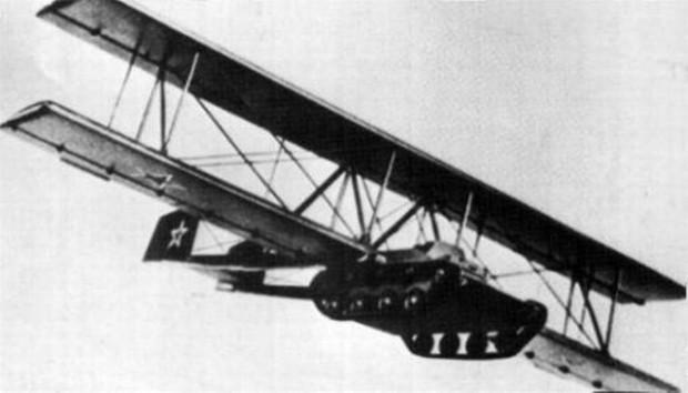 Броня крепка, а есть еще и крылья! Короткая история летающего танка А-40