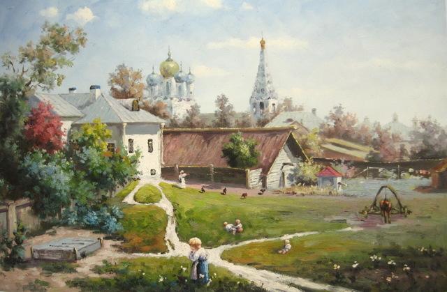 Москва глазами русских художников (13 фото)