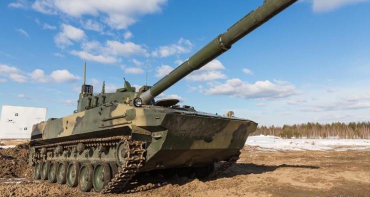 Плавающий танк Спрут испытают сибирскими морозами