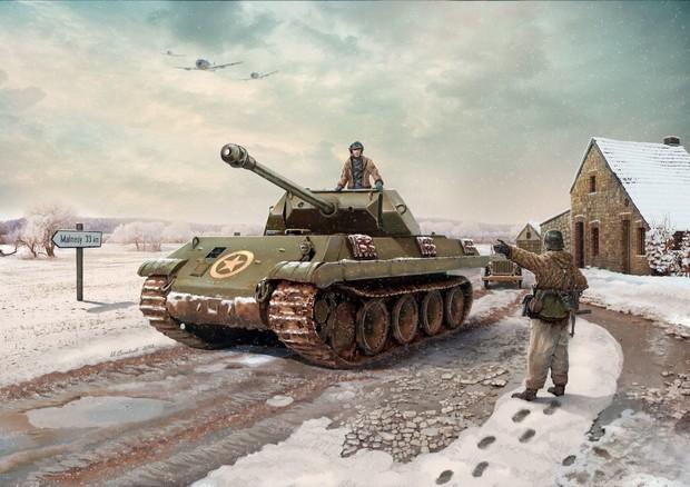 Конец операции Гриф как немцы в американскую униформу переодевались и что из этого вышло