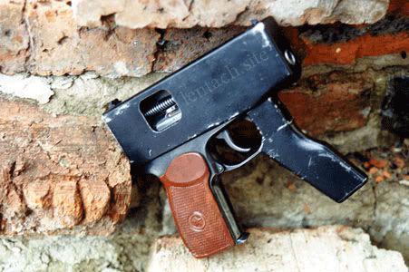 Как из пистолета Макарова делали пулемет