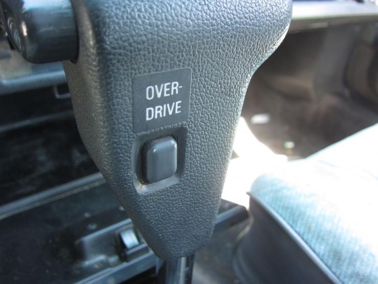 Для чего раньше в машинах была нужна кнопка Овердрайв?