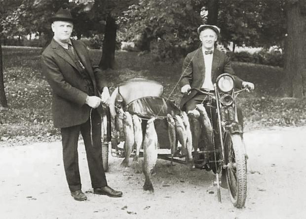 История одной фотографии основатели Harley-Davidson, 1922