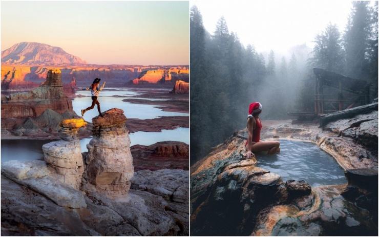 Красивые фотографии из путешествий Келси Джонсон