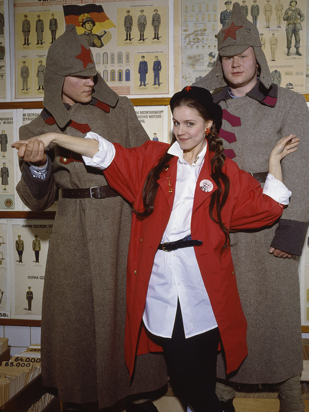 Красные звезды перестройки популярные советские актрисы в съемке американского фотографа, 1988 год